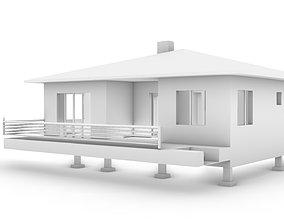 3D Model Home terace