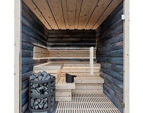 3D model Kelo sauna