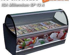 3D asset Ice showcase ISA Millenium 12 12A