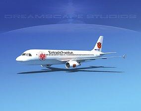 Airbus A320 LP Eintracht Frankfurt 3D model