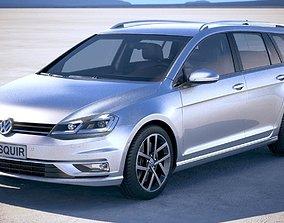 Volkswagen Golf Variant 2017 3D