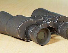 Binocular 3D model PBR