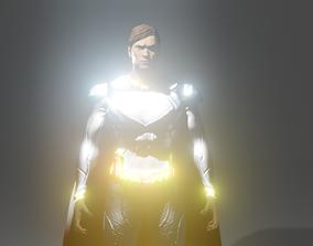 superman pack 3D model