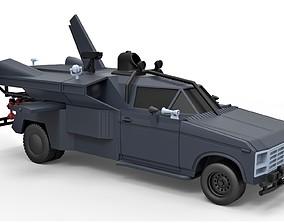 Diecast model Buckaroo Bonzai Jet Truck Scale 1 to 24