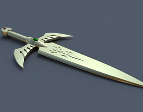 3D printable model Gold Dagger - Saint seiya