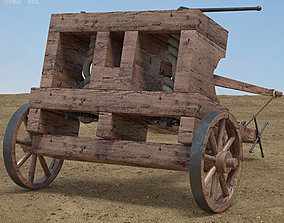 Ballista military 3D model