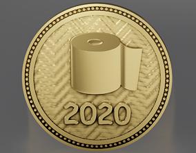 Souvenir coin 2020 3D printable model