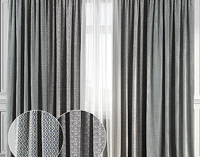 Curtain Set 135 3D