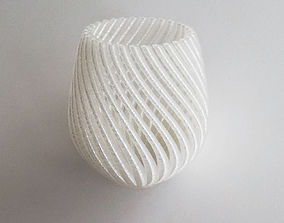 String Vase 3D printable model