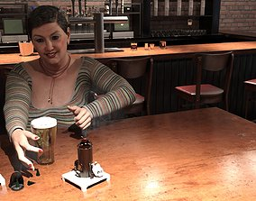 Breweryoven for incensecandles 3D model