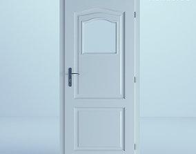 3D White Door 17