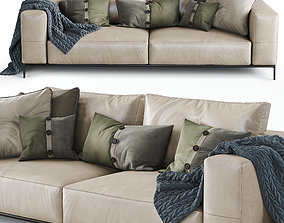 3D Flexform Sofa Ettore