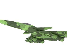 3D model Fighter Plane