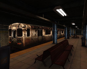 Urban Subway 3D model