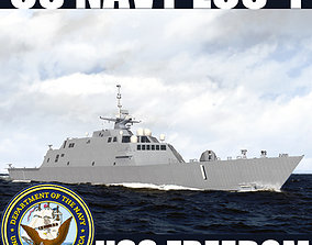 US Navy Littoral Combat Ship LCS-1 Freedom 3D model