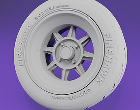 3D print model Hayashi Racing Street -16in- rims and