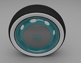 VW Beetle wheel 3D