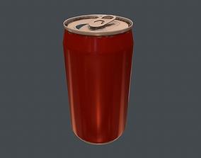 Soda Can - PBR Game Ready 3D model