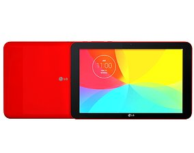 3D LG G Pad 10 RED