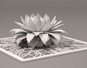 3D print model aster flower decor element STL