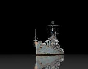 USS Atlanta 3D model