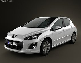 Peugeot 308 2012 3D