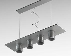venetian 3D Grey Sconce Lamp