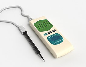 ORP and PH meter 3D laboratory