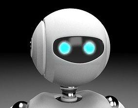 3D asset Rigged robot character