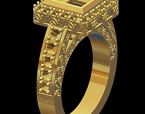 3D print model Ring diamond mold