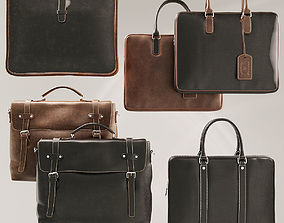 Leather Briefcases 3D