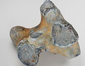 Scanned Big Flint Stone Rock 3D model
