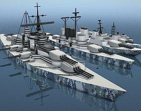 realtime Simple Warships Game Models