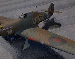 Hawker Hurricane Mk-1 3D model