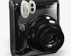 Fujifilm Instax Mini 50s Black 3D model