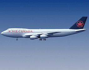 3D model Air Canada Boeing