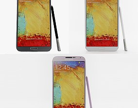 Samsung Galaxy Note 3 Neo collection 3D model