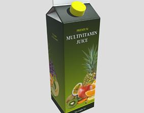 3D asset Multivitamin Juice