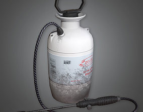 Weed Sprayer TLS - PBR Game Ready 3D asset