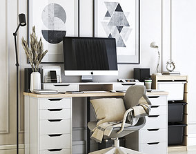Office workplace 21 3D model