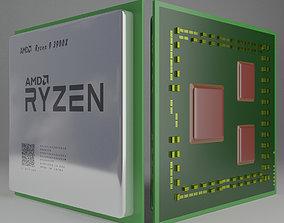 3D asset game-ready AMD CPU