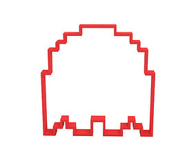 Cookie cutter dining ghost 3D print model