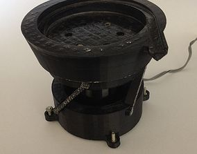 Industrial Vibrating Bowl Feeder - 3d Printed Working