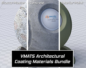 3D model VMATS - Architectural Coating Materials Bundle