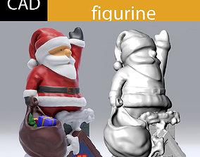 Santa claus model cad