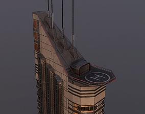 3D model Sci-Fi Building 3