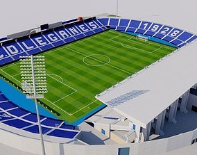 Estadio Municipal de Butarque - Leganes Madrid 3D