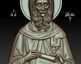 St Anthony the Great 3d model for CNC