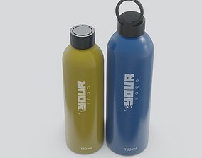 food 3D Water Bottle