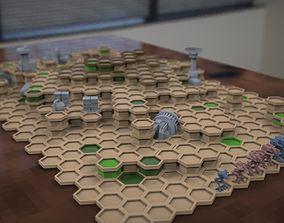 3D printable model mechcommander set base